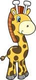长颈鹿例证徒步旅行队向量 库存图片