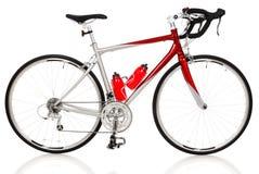 骑自行车种族路 库存图片