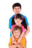 счастливые малыши Стоковые Изображения RF