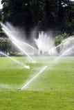 вода спринклеров Стоковая Фотография