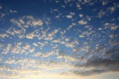 небо рассвета Стоковая Фотография RF