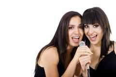 τραγουδιστές Στοκ Εικόνες