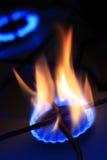 天然灼烧的气体 免版税图库摄影