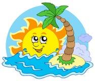 солнце пляжа Стоковое фото RF