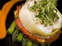 芦笋创造性的蔬菜 免版税库存图片