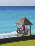 加勒比救生员岗位 免版税图库摄影