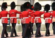 φρουρά Λονδίνο αλλαγής Στοκ φωτογραφία με δικαίωμα ελεύθερης χρήσης