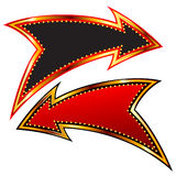 стрелки декоративные Стоковые Фотографии RF
