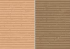 гофрированная выровнянная грубая текстура Стоковое Изображение