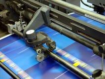 отожмите печатание Стоковое фото RF