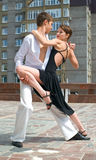 舞蹈拉丁美洲人 图库摄影