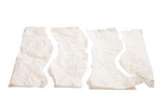 бумажные части к сорвано Стоковое Изображение RF