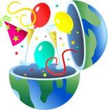 партия глобуса Стоковое Изображение