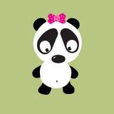 哀伤的熊猫 免版税库存图片
