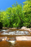 Nonesuch Falls of Michigan Royalty Free Stock Images