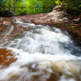 Nonesuch Falls of Michigan Royalty Free Stock Photo