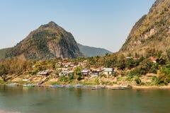 Nong Khiao, Лаос Стоковое Изображение
