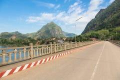 Nong Khiaw en Laos del norte Imagen de archivo