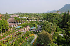 Nong Nooch Garden Royalty Free Stock Photography