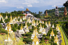 Nong Nooch Garden in Pattaya Stock Photography