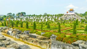 Nong Nooch Garden, Pattaya, Thailand stock photos