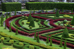 The Nong Nooch garden in Vietnam Stock Image