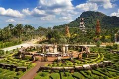 Nong Nooch Garten in Pattaya lizenzfreie stockbilder