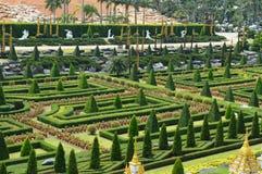 Nong Nooch Garten in Pattaya Lizenzfreies Stockfoto