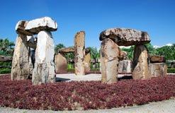 nong nooch pattaya stonehenge泰国 免版税库存图片
