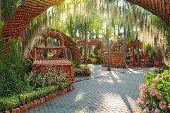 Nong Nooch trädgård Arkivbild