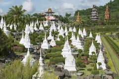 Nong Nooch Tropical Botanical Garden, Pattaya, Chonburi, Thailand. Stock Photography