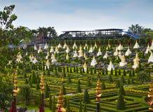 Nong Nooch Tropical Botanical Garden, Pattaya, Thailand Royalty Free Stock Photography