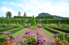 Nong Nooch Tropical Garden Royalty Free Stock Image