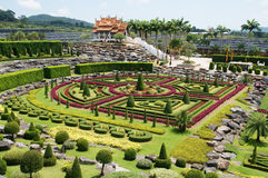 Nong Nooch tropical garden Royalty Free Stock Photography