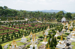 Nong Nooch tropical garden Stock Photo