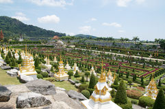 Nong Nooch tropical garden Stock Images