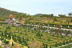 Nong Nooch tropical garden in Pattaya Royalty Free Stock Photo