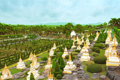 Nong Nooch tropical garden in Pattaya Royalty Free Stock Image