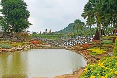 Nong Nooch tropical garden in Pattaya Royalty Free Stock Photos
