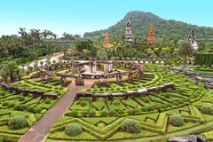 Nong Nooch tropical garden in Pattaya Stock Images