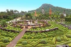 Nong Nooch tropical garden in Pattaya Stock Images