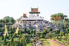 Nong Nooch tropical garden in Pattaya, Thailand Royalty Free Stock Photo