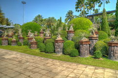 Nong Nooch Tropical Park Stock Images