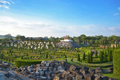 Nong Nooch tropischer Garten Stockfotografie