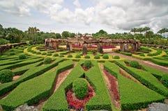 Nong Nuch garden in Pattaya Royalty Free Stock Photo