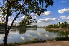 Nong Prajak Public Park Stockfotos