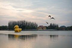 Nong Prajak Public Park (Udon Thani, Tailandia), punto di riferimento in Udon immagini stock