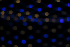 Nong Prajak Public Park Udon Thani, Thailand-bokeh LED blüht bunte belichtete Plastikglasfasern in der Dunkelheitsrückseite Stockfoto