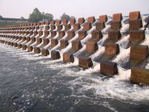 Nong Wai水坝 库存照片