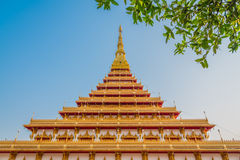 Nong Wang świątynia, Tajlandia Obraz Stock